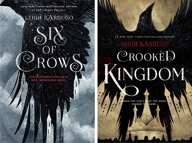 Book cover of Six of Crows & Crooked Kingdom by Leigh Bardugo