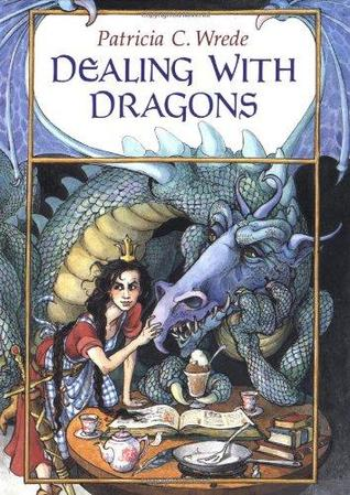 "Book cover of ""Dealing with Dragons"" by Patricia C. Wrede"