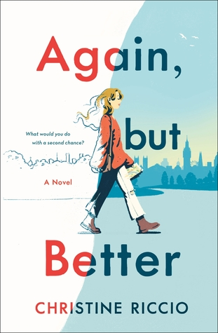 "Book cover of ""Again but Better"" by Christine Riccio"