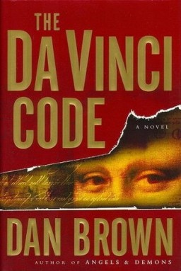 "Book cover of ""The Da Vinci Code"" by Dan Brown"