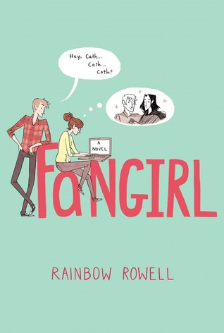 "Cover of Rainbow Rowell's ""Fangirl"""