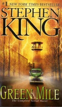 "Book cover of ""The Green Mile"" by Stephen King"
