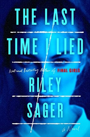 "Book Cover of ""The Last Time I Lied"" by Riley Sager"