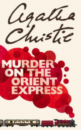 "Book cover of ""Murder on the Orient Express"" by Agatha Christie"