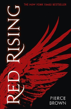 "Cover of Pierce Brown's ""Red Rising"""