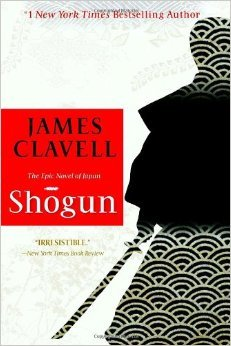 "Book cover of ""Shogun"" by James Clavell"