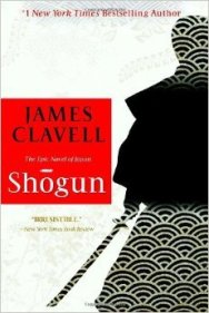 """Book cover of """"Shogun"""" by James Clavell"""