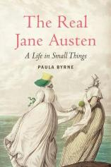 """Book cover of """"the Real Jane Austen"""""""