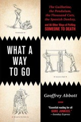 """Book cover of """"What a Way to Go"""" by Geoffrey Abbott"""