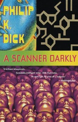 "Book cover of ""A Scanner Darkly"" by Philip K. Dick"