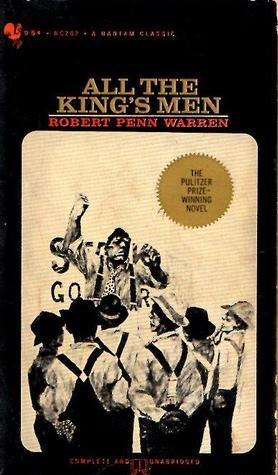 "Book cover of ""All the King's Men"" by Robert Penn Warren"