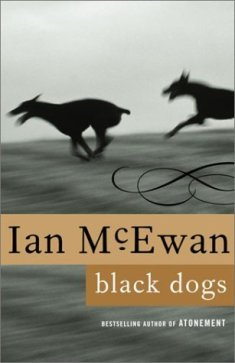 """Book cover of """"Black Dogs"""" by Ian McEwan"""