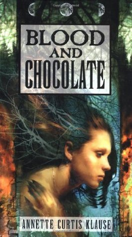"Book cover of ""Blood and Chocolate"" by Annette Curtis Klause"