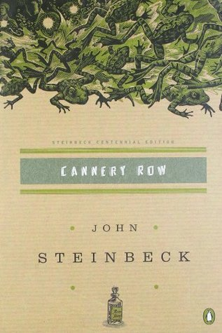 "Book cover of ""Cannery Row' by John Steinbeck"
