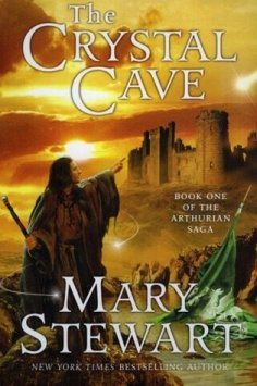 """Book cover of """"The Crystal Cave"""" by Mary Stewart"""