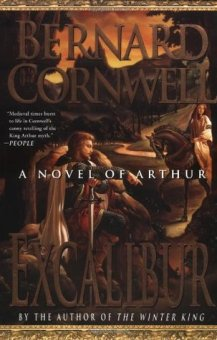 "Book cover of Bernard Cornwell's ""Excalibur"""