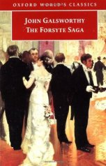 "Book cover of ""The Forsyte Saga"" by John Galsworthy"