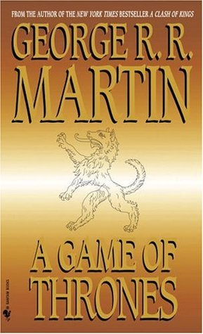 "Book cover of ""Game of Thrones"" by George R. R. Martin"