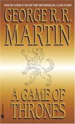 """Book cover of """"Game of Thrones"""" by George R. R. Martin"""