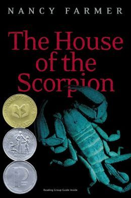 """Book cover of """"The House of the Scorpion"""" by Nancy Farmer"""