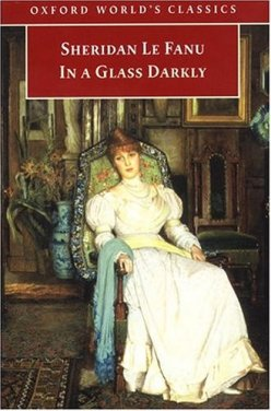 "Book cover of ""In a Glass Darkly"" by Sheridan Le Fanu"