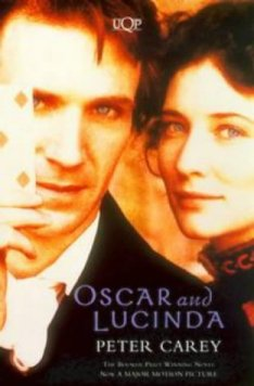 """Book cover of """"Oscar and Lucinda"""" by Peter Carey"""