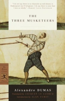"Book cover of Alexandre Dumas' ""The Three Musketeers"""