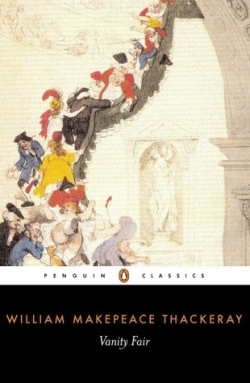 "Book cover of ""Vanity Fair"" by William Makepeace Thackeray"
