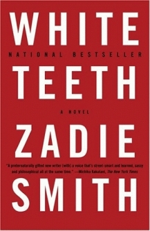 "Book cover of Zadie Smith's ""White Teeth"""