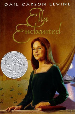 Book cover of Ella Enchanted by Gail Carson Levine